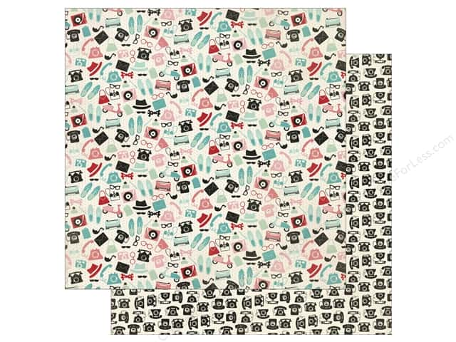 Authentique 12 x 12 in. Paper Fabulous Eleven (25 sheets)