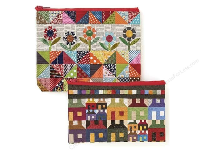 C&T Publishing Eco Pouch Set Scrap Quilt Secrets
