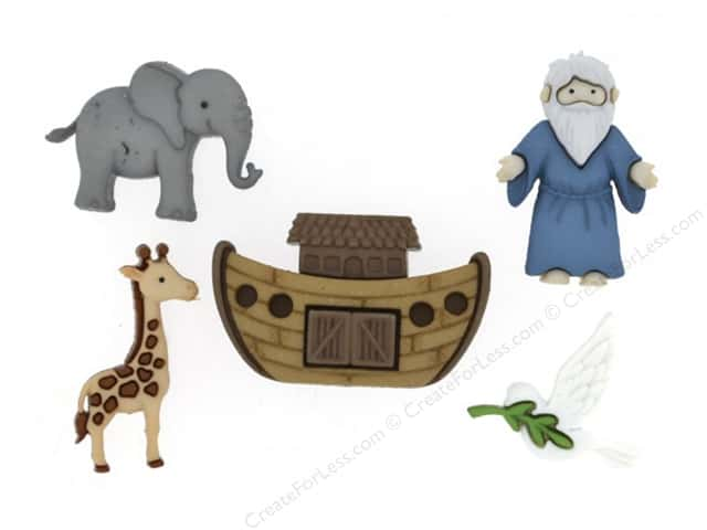 Jesse James Dress It Up Embellishments Noah's Ark