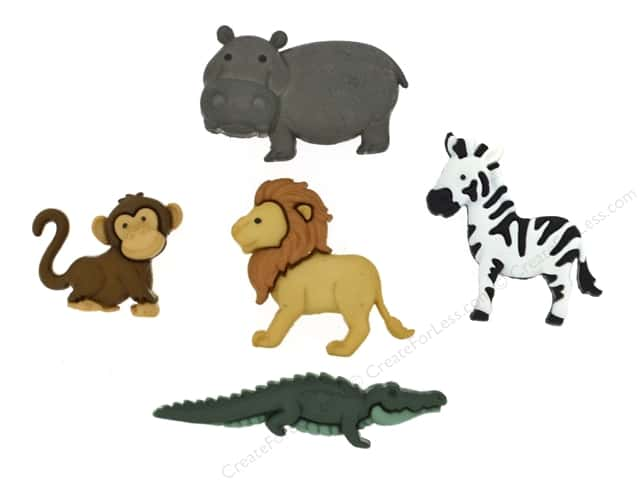 Jesse James Dress It Up Embellishments Noah's Animals