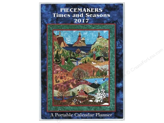 Piecemakers Times & Seasons Portable Planner 2017