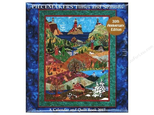Piecemakers Times & Seasons Calendar 2017