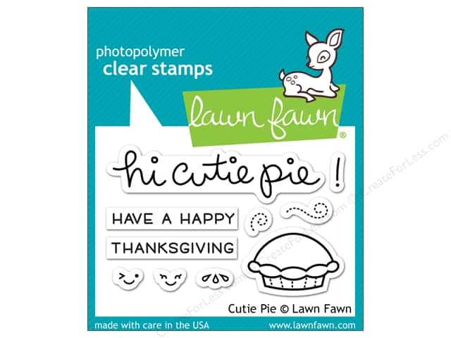 Lawn Fawn Clear Stamp Cutie Pie