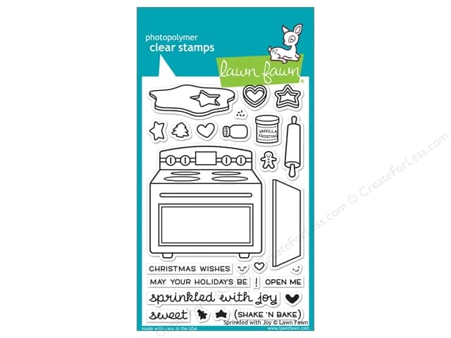 Lawn Fawn Clear Stamp Sprinkled With Joy