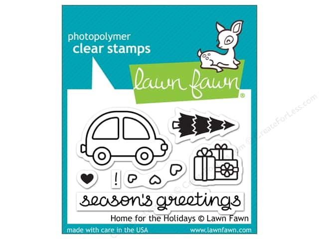 Lawn Fawn Clear Stamp Home For The Holidays