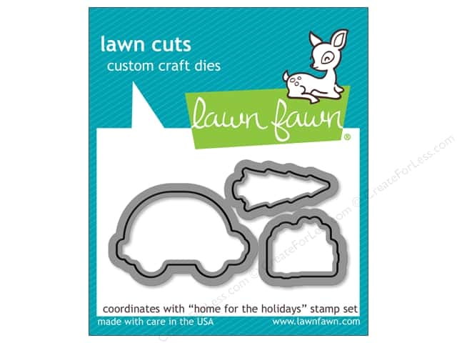 Lawn Fawn Cuts Die Home For The Holidays
