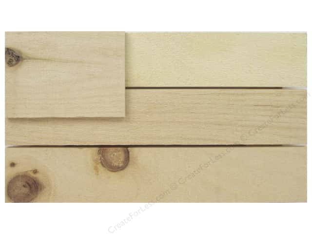 Walnut Hollow Wood Rustic Flag Small