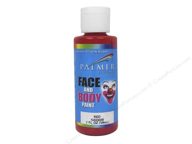 Palmer Face Paint 2 oz. Red