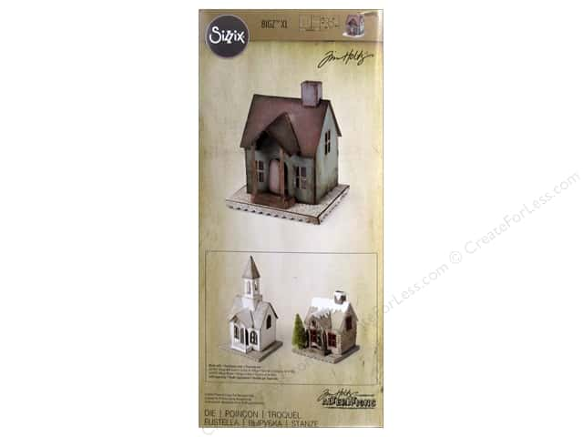 Sizzix Bigz Dies XL Vintage Village by Tim Holtz