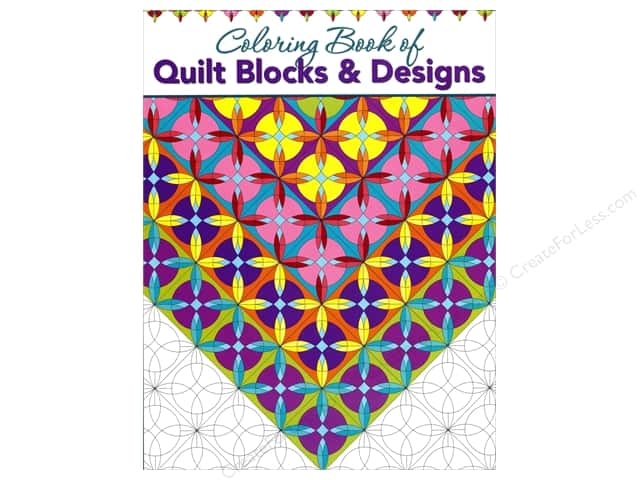 Landauer Coloring Quilt Blocks & Designs Book