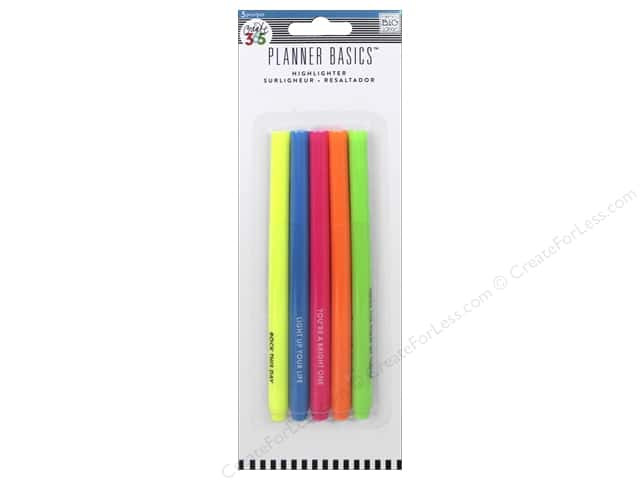 Me&My Big Ideas Collection Create 365 Basics Pens Neon