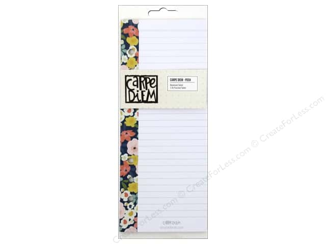 Simple Stories Collection Carpe Diem Posh Bookmarks Tablet