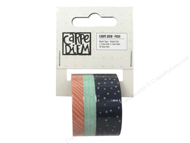 Simple Stories Collection Carpe Diem Posh Washi Tape Totally Chic
