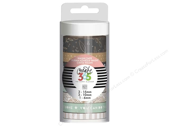 Me&My Big Ideas Collection Create 365 Happy Planner Washi Tape Rose