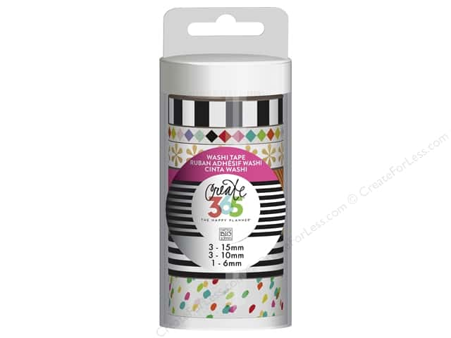 Me&My Big Ideas Create 365 Happy Planner Washi Tape Bright