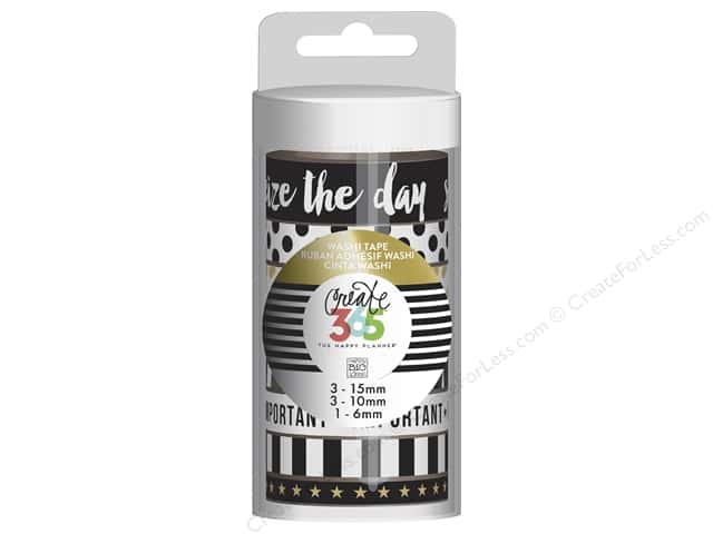 Me&My Big Ideas Collection Create 365 Happy Planner Washi Tape Gold