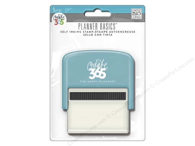 Me&My Big Ideas Collection Create 365 Happy Planner Stamp Self Inking Neon