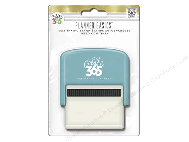 Me&My Big Ideas Collection Create 365 Happy Planner Stamp Self Inking Gold