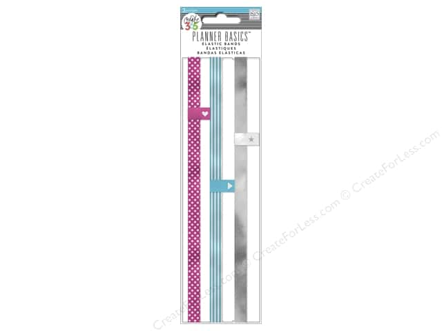 Me & My Big Ideas Create 365 Happy Planner Elastic Bands 3 pc. Neon