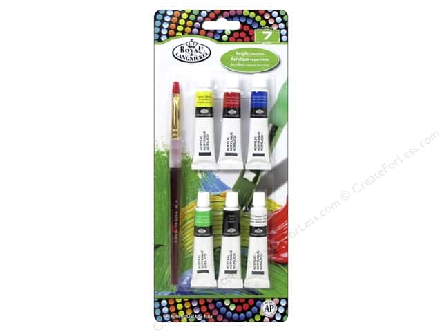 Royal Artist Pack Acrylic Paint with Brush