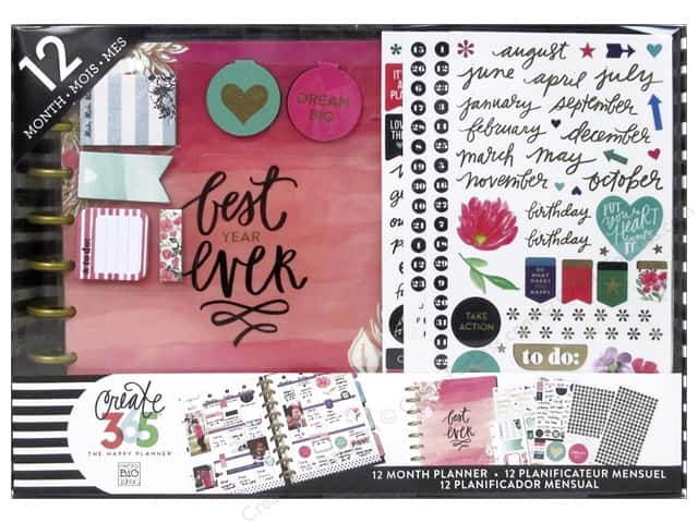 Me&My Big Ideas Create 365 Happy Planner Kit Best Year