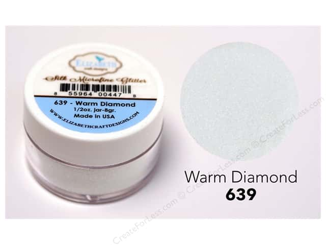 Elizabeth Craft Silk Microfine Glitter 1/2 oz. Warm Diamond