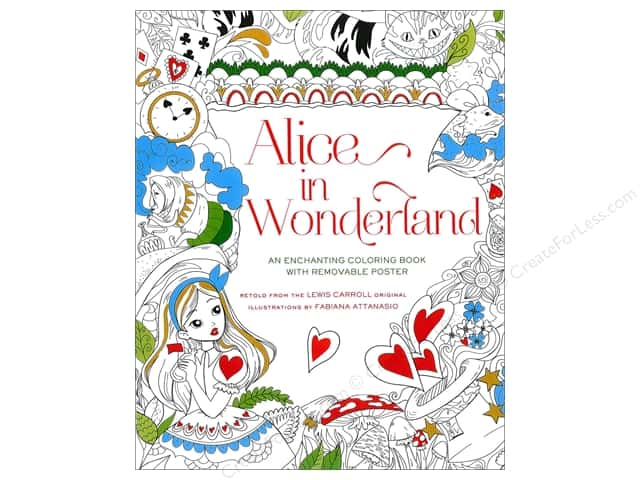 Sterling Alice In Wonderland Coloring Book
