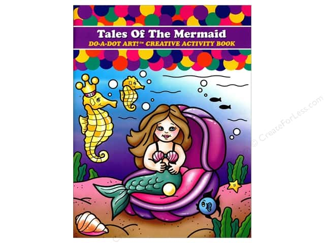 Do-A-Dot Art Activity Book Tales Of The Mermaid