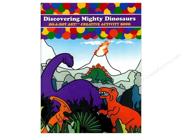 Do-A-Dot Art Activity Book Discovering Mighty Dinosaurs