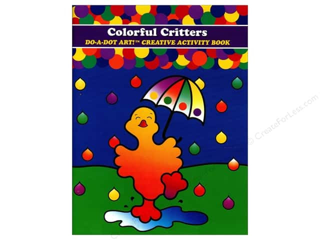 Do-A-Dot Art Activity Book Colorful Critters Book
