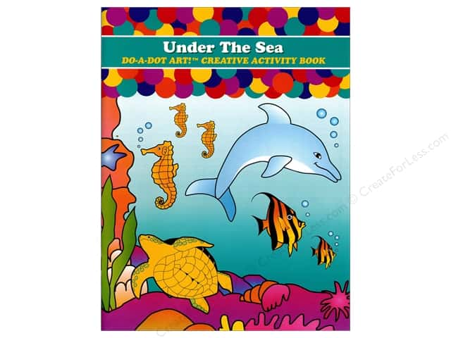 Do-A-Dot Art Activity Book Under The Sea