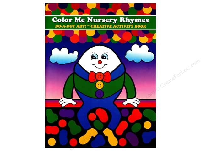 Do-A-Dot Art Activity Book Color Me Nursery Rhymes