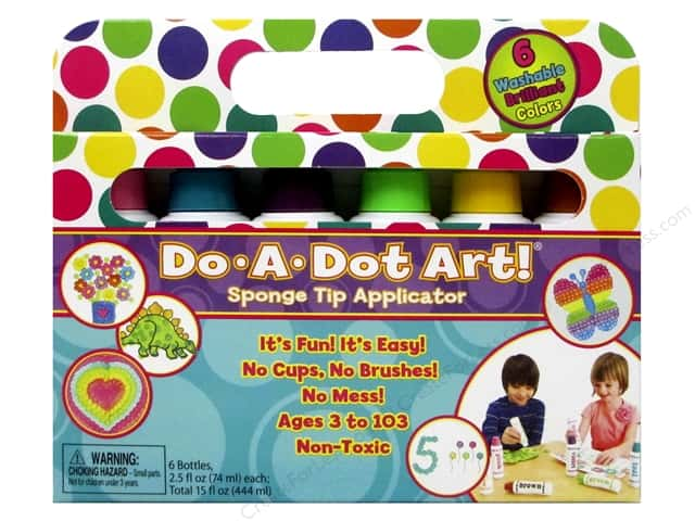 Do-A-Dot Art Markers Brilliant 6pc