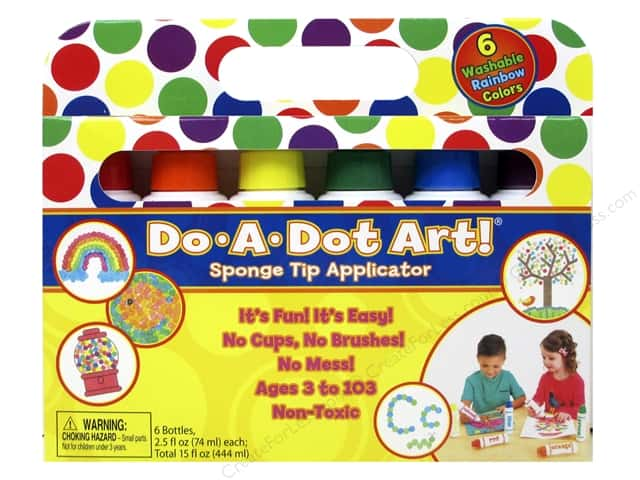Do-A-Dot Art Markers Rainbow 6pc