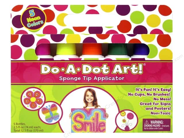 Do-A-Dot Art Markers Neon 5pc