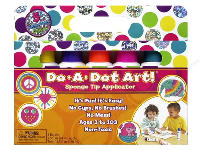 Do-A-Dot Art Markers Shimmer Tutti Frutti 5pc