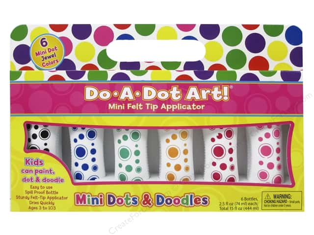 Do-A-Dot Art Markers Mini Dots Jewel Tone 6pc