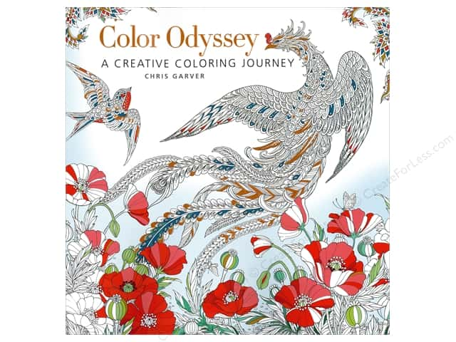 Get Creative 6 Color Odyssey Coloring Book