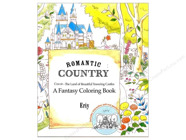 St Martin's Griffin  Romantic Country Coloring Book
