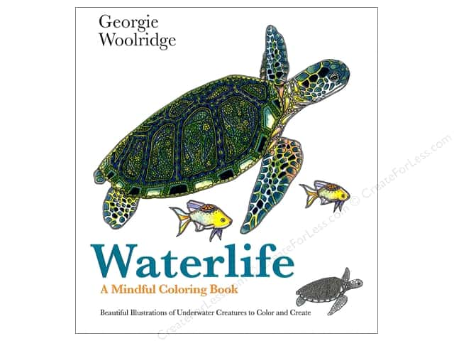 St Martin's Griffin Waterlife Coloring Book