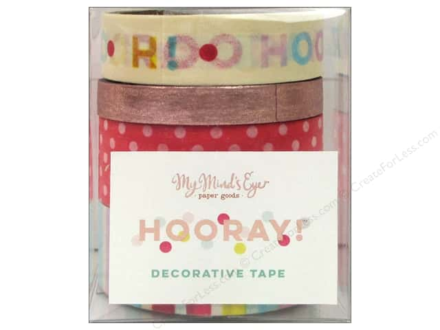 My Mind's Eye Hooray Collection Decorative Tape