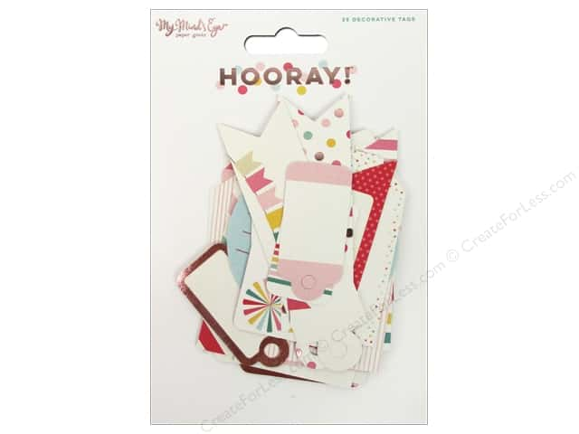 My Mind's Eye Hooray Collection Decorative Tags