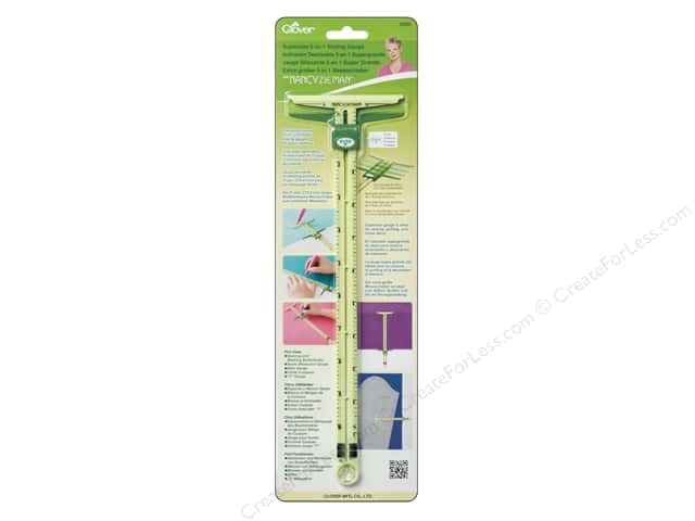 Clover Supersize 5-in-1 Sliding Gauge by Nancy Zieman