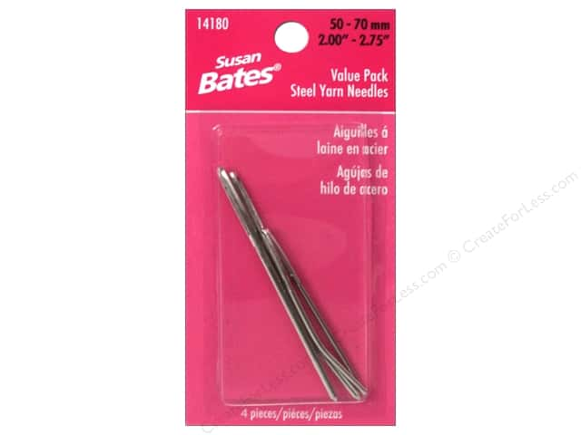 Susan Bates Steel Yarn Needles 4 pc. Value Pack