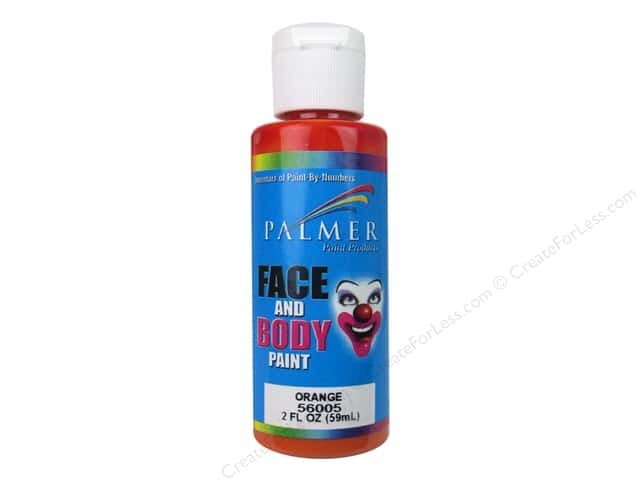 Palmer Face and Body Paint 2 oz. Orange