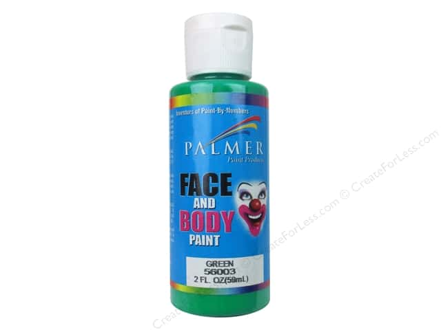 Palmer Face and Body Paint 2 oz. Green