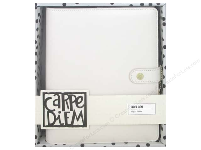 Simple Stories Collection Carpe Diem A5 Planner Ivory