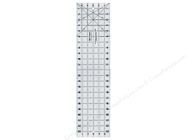 "TQM Products The Fold Away Ruler 6""x 24"""