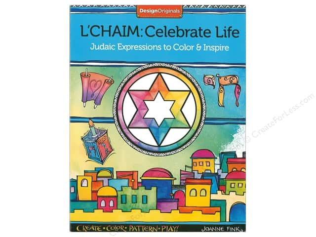 Design Originals L'Chaim: Celebrate Life Coloring Book