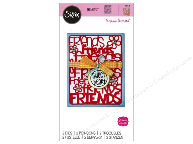 Sizzix Thinlits Die Set 2 pc. Friends